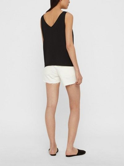 Shorts Woman White Vero Moda