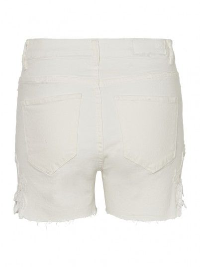 Shorts Woman Cream Vero Moda