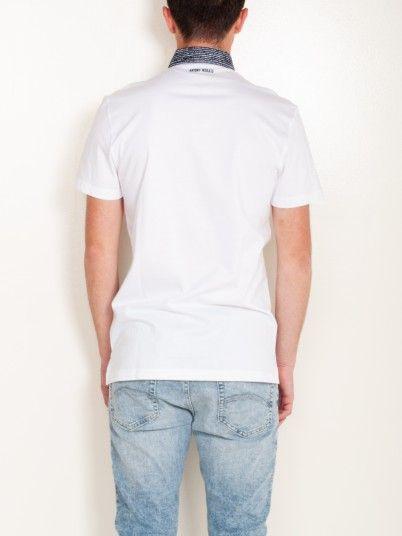 Polo Shirt Men White Antony Morato MMKS01489FA100084