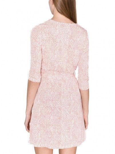 Dress Women Red Vero moda 10212582