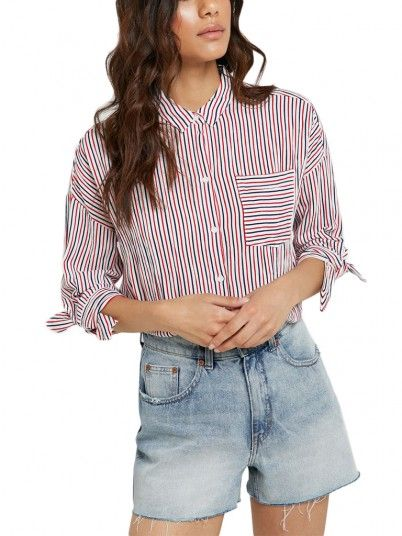 CAMISA MULHER LILLO ONLY