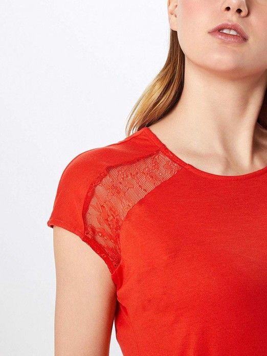 T-Shirt Mulher Philippa Vero Moda