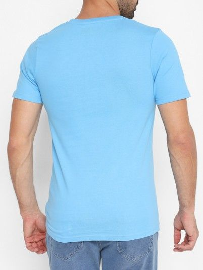 T-Shirt Uomo Blu Jack & Jones