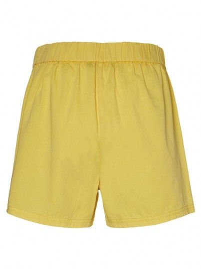 Shorts Woman Yellow Vero Moda