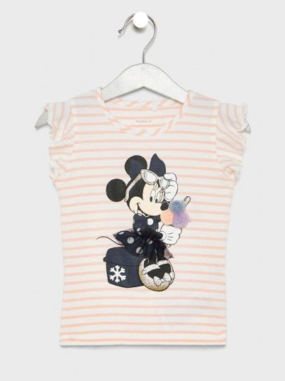 T-SHIRT MENINA MINNIE NAME IT