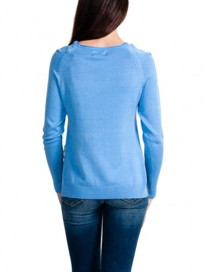 Sweat Mujer Azul Only 15170603
