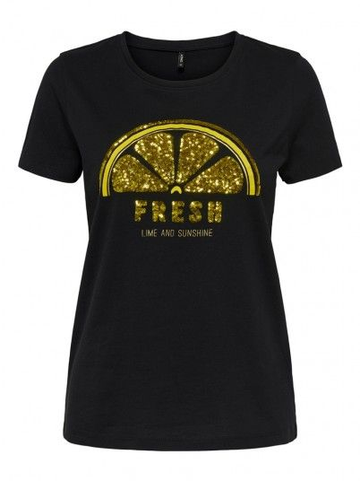 T-SHIRT MULHER LENA ONLY
