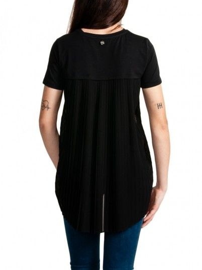 T-Shirt Woman Black Fracomina
