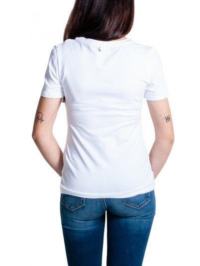 T-Shirt Mujer Blanco Fracomina FR19SM305