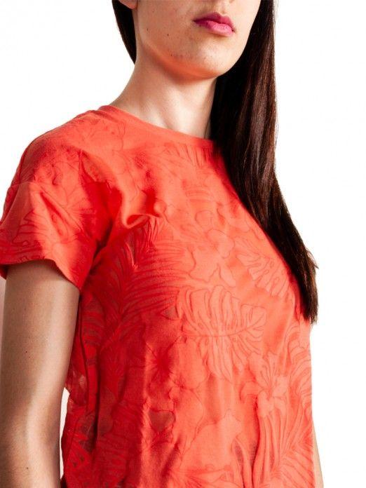 T-Shirt Mulher Tropicana Vero Moda