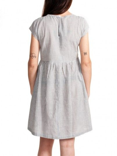 Dress Woman Light Gray Only