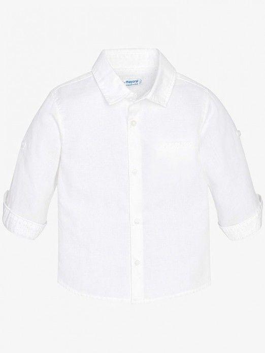 Camisa manga comprida de menino Mayoral