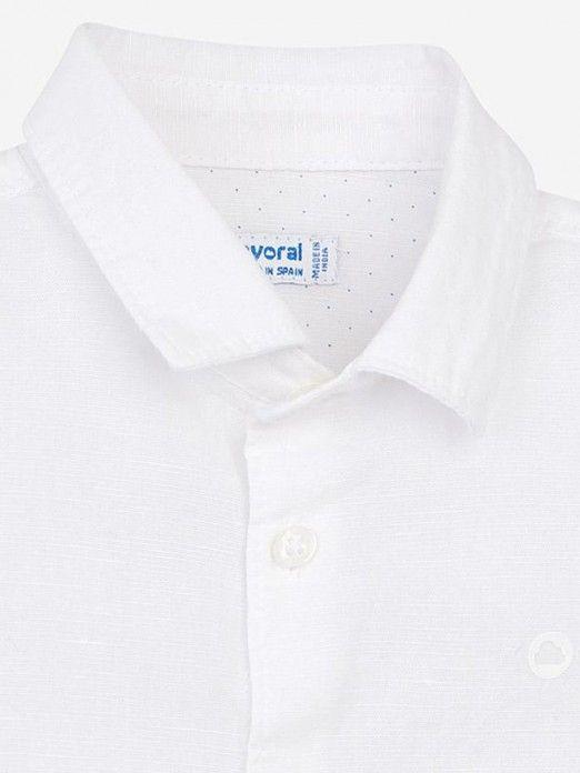 Camisa manga curta bebé menino Mayoral