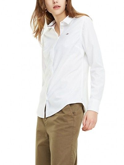 CAMISA MULHER SLIM FIT TOMMY JEANS