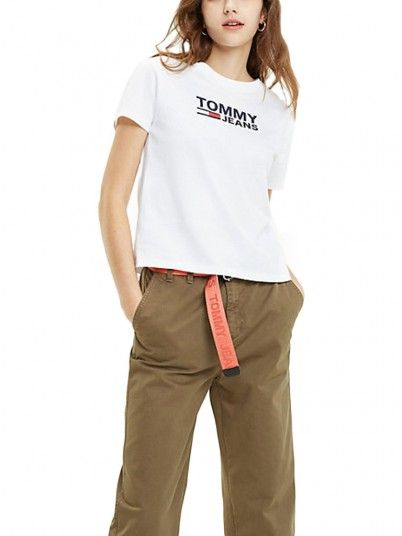T-SHIRT MULHER CORP TOMMY JEANS