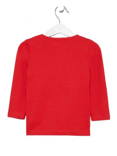Sweatshirt Boy Red Name It