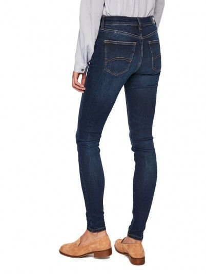 JEANS MULHER MID RISE TOMMY JEANS