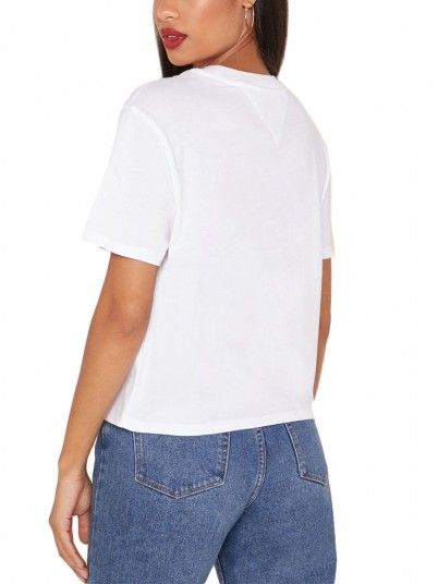 T-SHIRT MULHER FLORAL TOMMY JEANS
