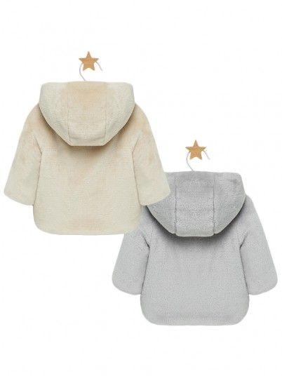 Blusão reversível bebé menino recém nascido Mayoral