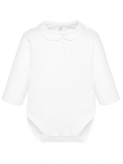 Body gola camisa bebé menina recém nascida Mayoral