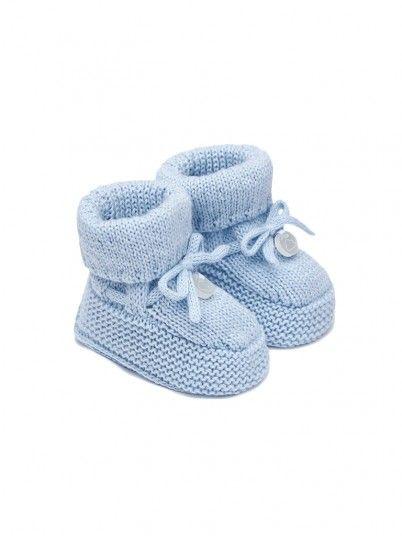 Botinhas tricotados bebé recém nascido Mayoral