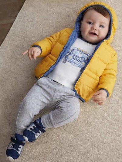 Calça felpa básica bebé menino Mayoral