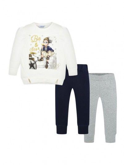 Conjunto leggings e camisola menina Mayoral
