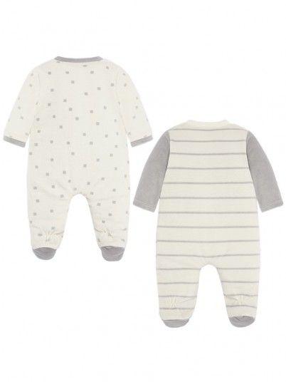 Set pijamas compridos bebé recém nascido Mayoral
