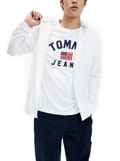 CAMISA HOMEM SOLID TOMMY JEANS
