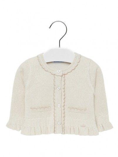 Casaco tricot bebé menina Mayoral