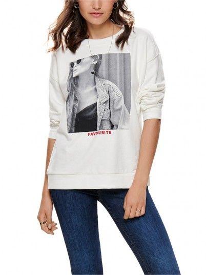 Sweatshirt Mulher Fie Only