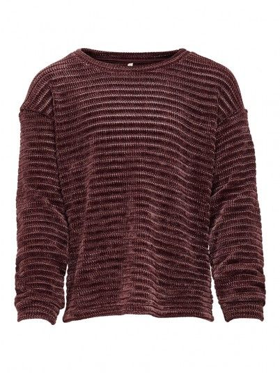 Knitwear Girl Bordeaux Only