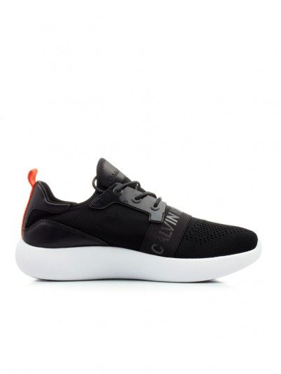 Sneaker Men Black Calvin Klein SE8596