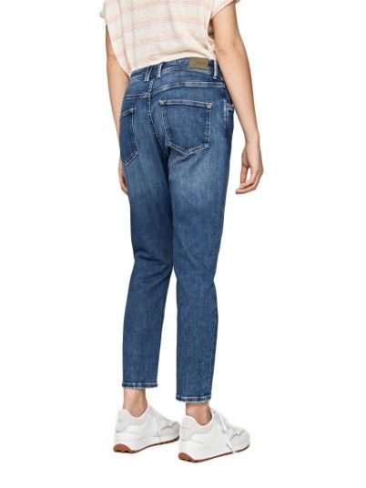 JEANS MULHER VIOLET PEPE JEANS