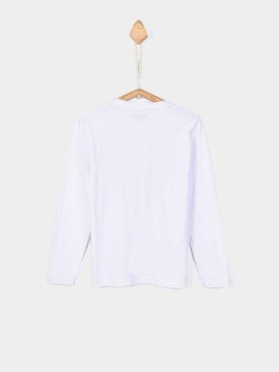 Sweatshirt Boy White Tiffosi Kids