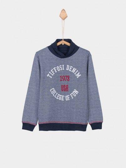 Sweatshirt Boy Blue Tiffosi Kids