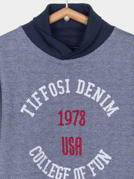 Sweatshirt Menino Amos Tiffosi