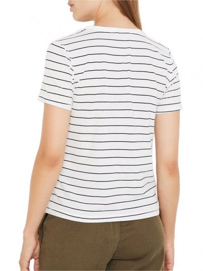 T-Shirt Donna Kita Blu Risca Only