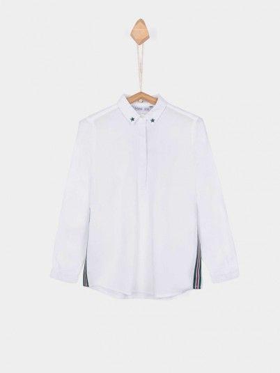 Shirt Girl White Tiffosi Kids