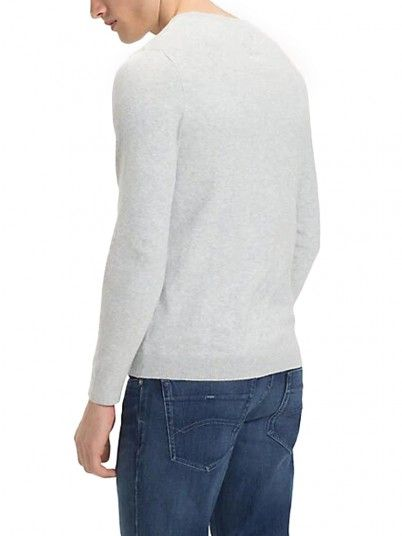 Knitwear Men Grey Tommy DM0DM04402
