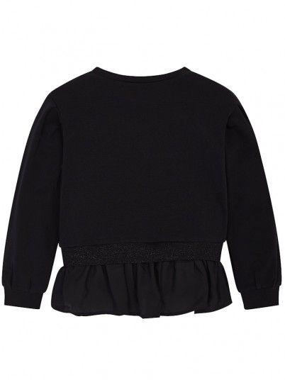 Sweatshirt Girl Black Mayoral 6403