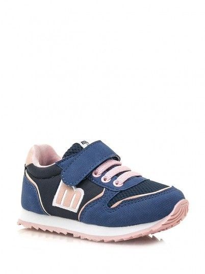 Sneaker Girl Navy Blue Mustang 47601