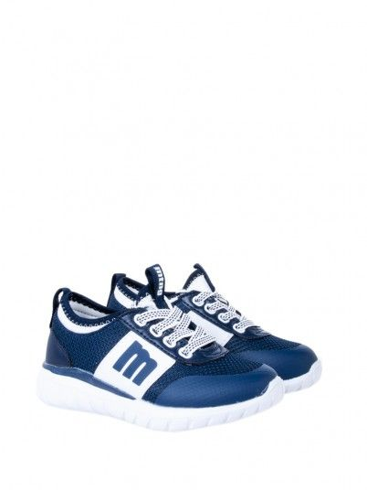 Sneakers Boy Navy Blue Mtng