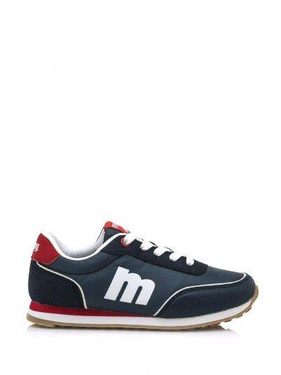 Sneaker Boy Dark Blue Mustang 83599