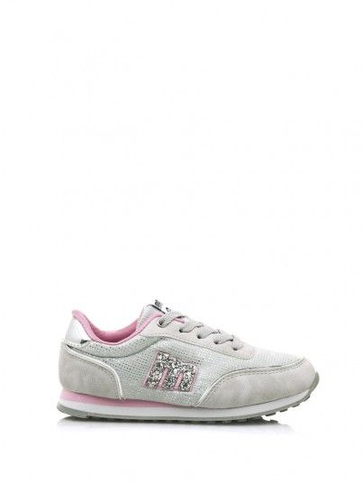 Sneaker Girl Grey Mustang 83599