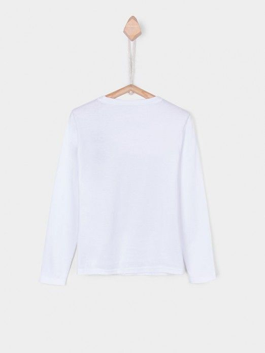 Sweatshirt Niño Blanco Tiffosi Kids