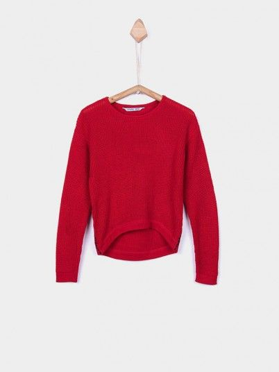Knitwear Girl Red Tiffosi Kids 10026823