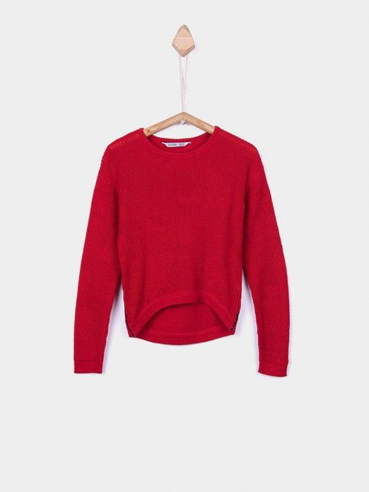 Knitwear Girl Red Tiffosi Kids