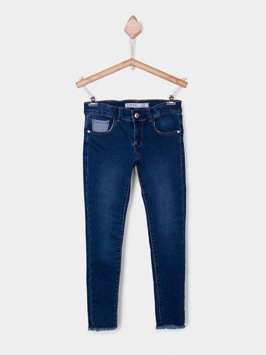 Jeans Girl Jeans Dark Tiffosi Kids 10026929