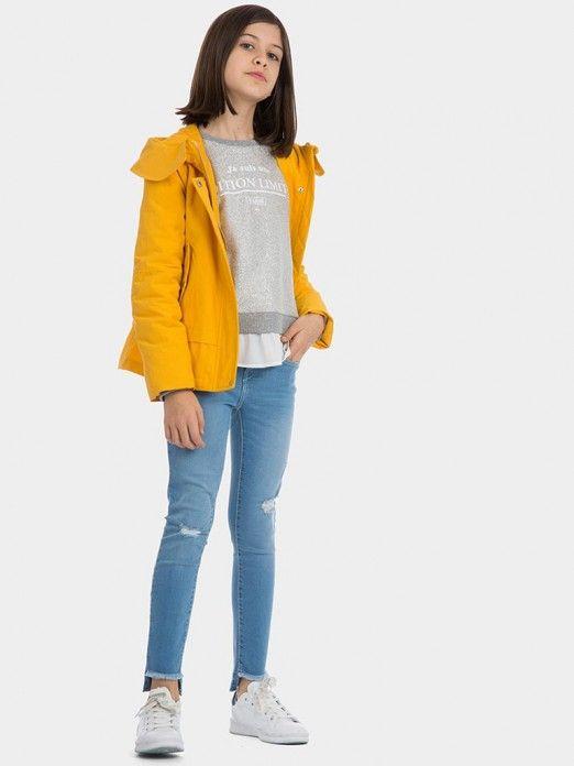 Knitwear Girl Grey Tiffosi Kids